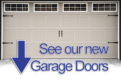 New garage doors